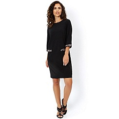 Monsoon - Black 'Carla' tunic dress