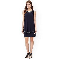 Monsoon - Blue jessie jersey dress
