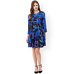 Monsoon - Blue iona short dress