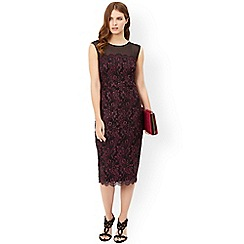 Monsoon - Red 'Molly' lace dress