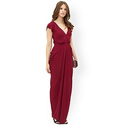 Monsoon - Pink athena maxi dress