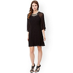 Monsoon - Black drew dress