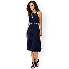 Monsoon - Navy 'Adora' dress