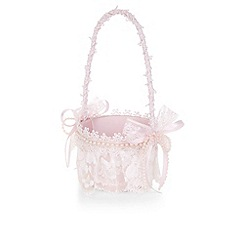 Monsoon - Pink Pretty lace basket