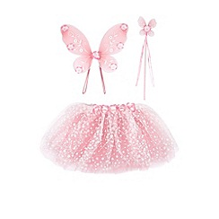 Monsoon - Pink Fairy dust flower dress up set