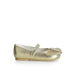 Monsoon - Gold Baby shimmer flower walkers