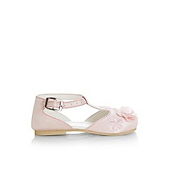 Monsoon - Pink Baby 2 part embroided walker shoes