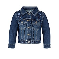 Monsoon - Blue Baby delphine denim jacket