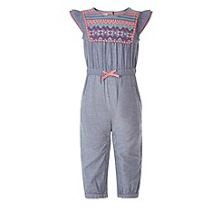 Monsoon - Blue Baby jessie jumpsuit