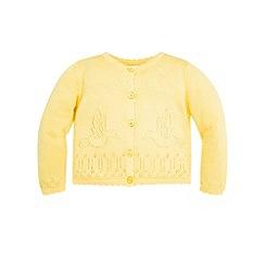Monsoon - Yellow Baby kirsten cardigan
