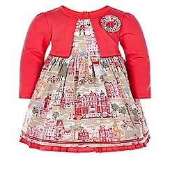 Monsoon - Multicoloured  baby grand square dress