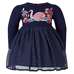 Monsoon - Blue baby 'Marie Ann' dress