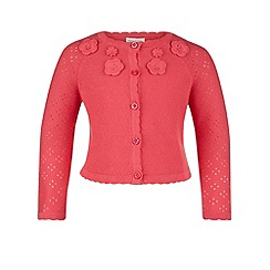 Monsoon - Pink Baby christine cardigan