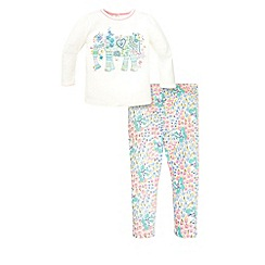 Monsoon - Blue Baby ellie jersey set