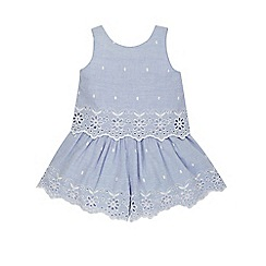 Monsoon - Blue Baby emmeline playsuit