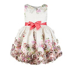 Monsoon - Multicoloured  Baby posey casade dress