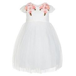 Monsoon - White Baby ethelle flower dress