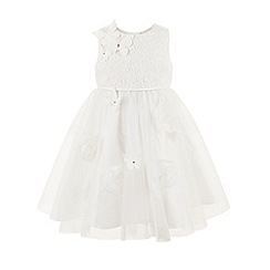 Monsoon - White Baby ginny butterfly dress