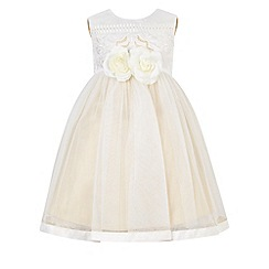 Monsoon - White Baby arianne flower dress