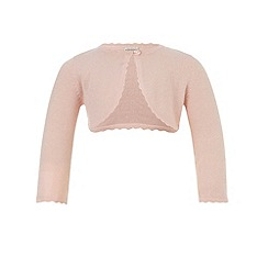 Monsoon - Pink Baby niamh cardigan