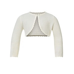 Monsoon - White Baby niamh cardigan