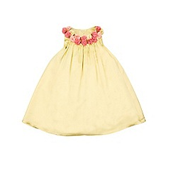 Monsoon - Yellow baby 'Wynona' dress