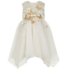 Monsoon - Gold Baby analia dress