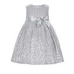 Monsoon - Silver Baby evalina sparkle dress