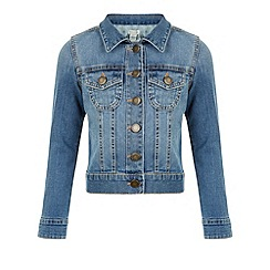 Monsoon - Blue Mandy denim jacket