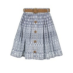 Monsoon - Blue Charlotte skirt