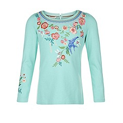 Monsoon - Green Bluebell tee