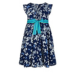 Monsoon - Blue Skyla dress