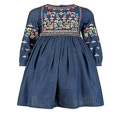 Monsoon - Blue girl's 'Francesca' dress