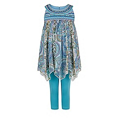 Monsoon - Blue 'Pandora' tunic set