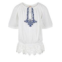Monsoon - White Miami blouse top