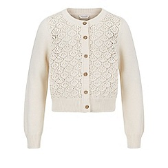 Monsoon - White Lola cardigan