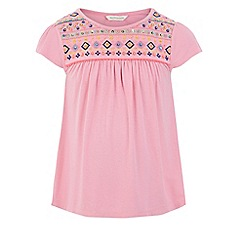 Monsoon - Pink 'Adela' swing top