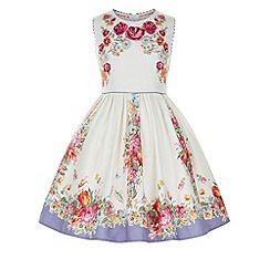 Monsoon - Multicoloured  Tea rose dress
