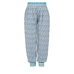 Monsoon - Blue Kasuri trousers