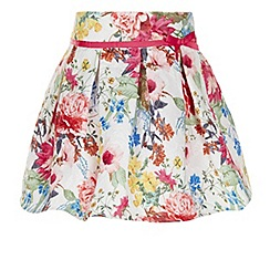 Monsoon - White Petunia skirt