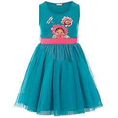 Monsoon - Blue Hula flower dress