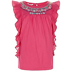 Monsoon - Pink Mayah mirror top