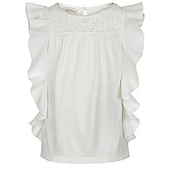 Monsoon - White Jaiyah lace top