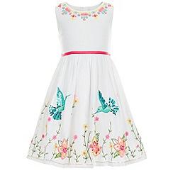 Monsoon - White Hummingbird dress