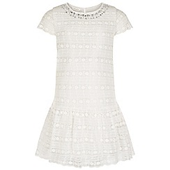 Monsoon - White Lyra lace dress