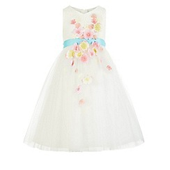 Monsoon - White 'Fleur' dress