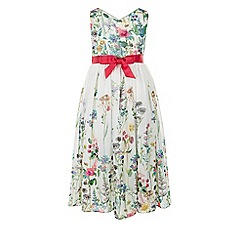 Monsoon - Multicoloured  'Garden' border dress