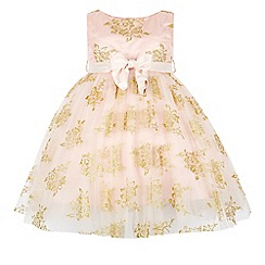 Monsoon - Pink girl's 'Portia' dress