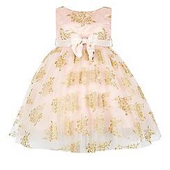 Monsoon - Pink girl's 'Portia' dress