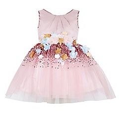Monsoon - Pink girl's 'Seren' dress